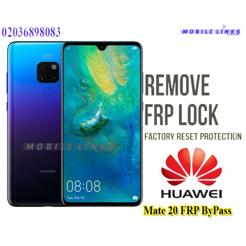 Huawei Mate 20 FRP Unlocking Service