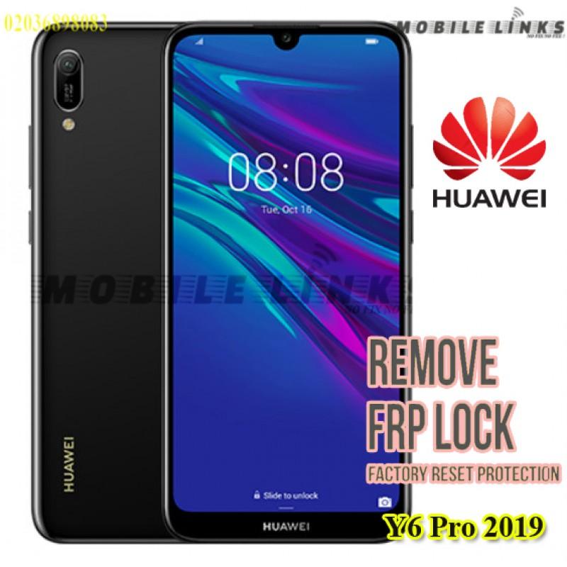 Huawei Y6 Pro MRD-LX2 (2019) FRP Unlocking Service
