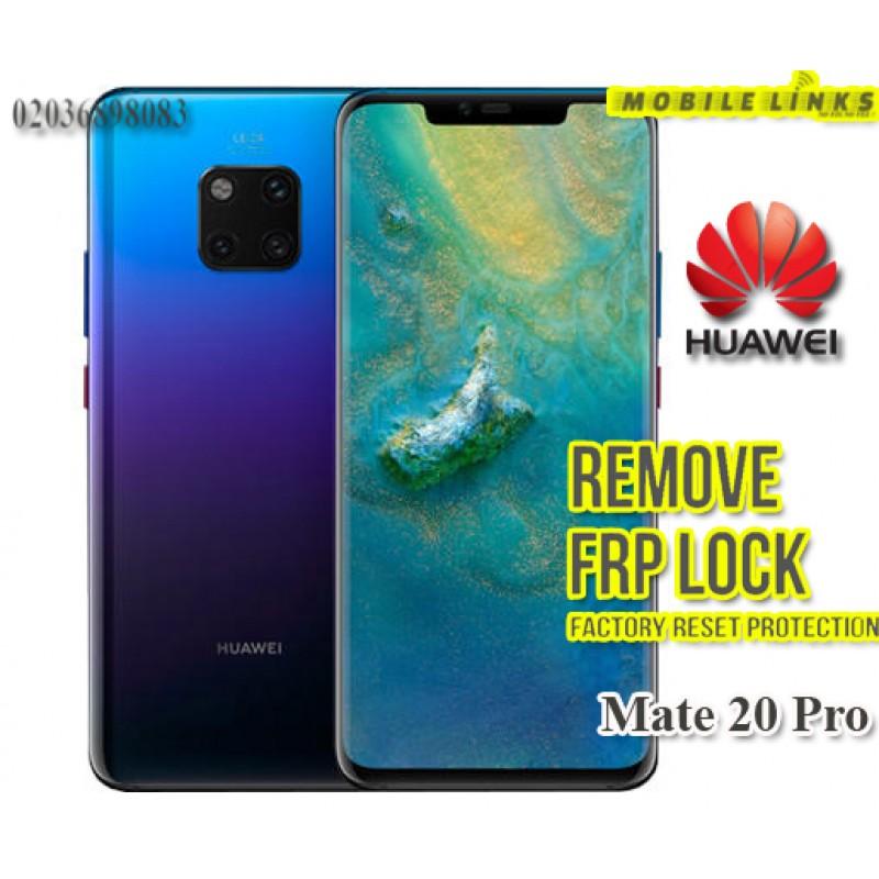 Huawei Mate 20 Pro FRP Unlocking Service