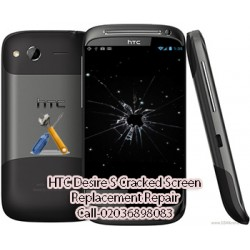 HTC Desire S Cracked Screen Replacement Repair