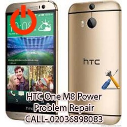 HTC One M8 Power Problem Repair