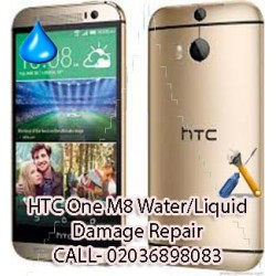 HTC One M8 Water/Liquid Damage Repair