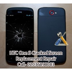 HTC One S Cracked Screen Replacement Repair