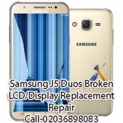 Samsung J5 Duos Broken LCD/Display Replacement Repair