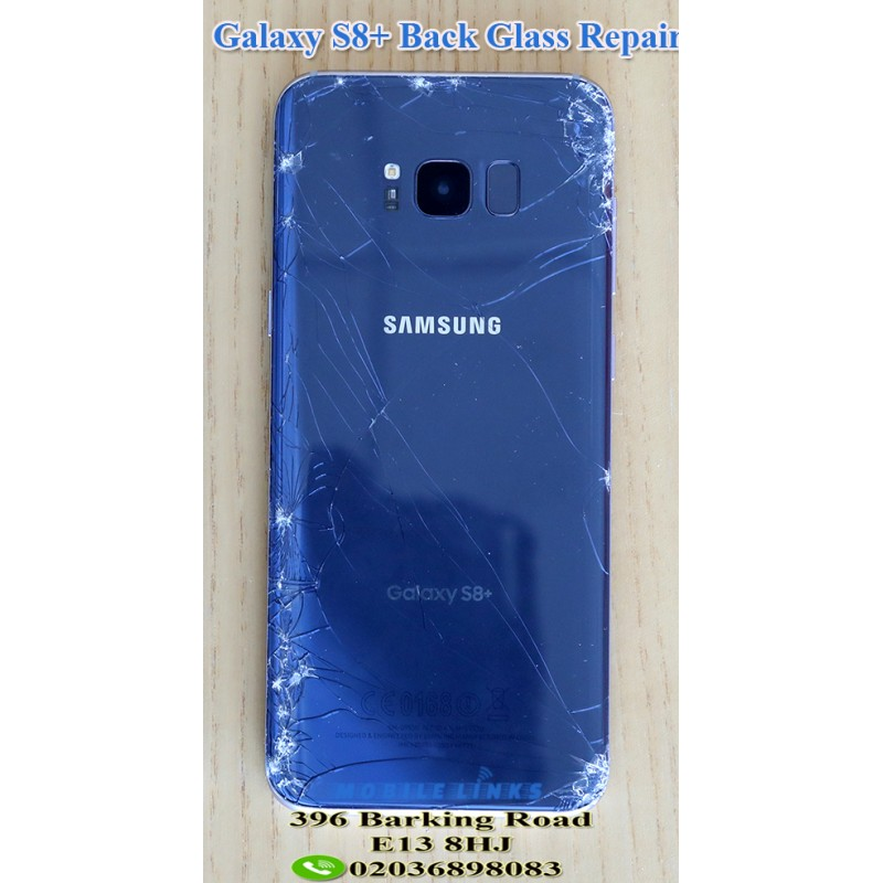new product f5c58 b88b8 Samsung Galaxy S8+ G955F Broken Rear Glass Repair