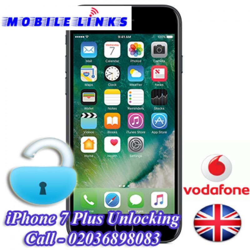 vodafone co uk network unlock code