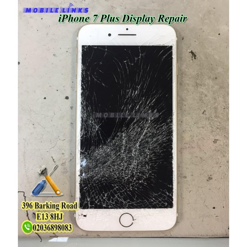 premium selection 64c8e 96fcd iPhone 7 Plus Broken Display Repair in 30 Minutes