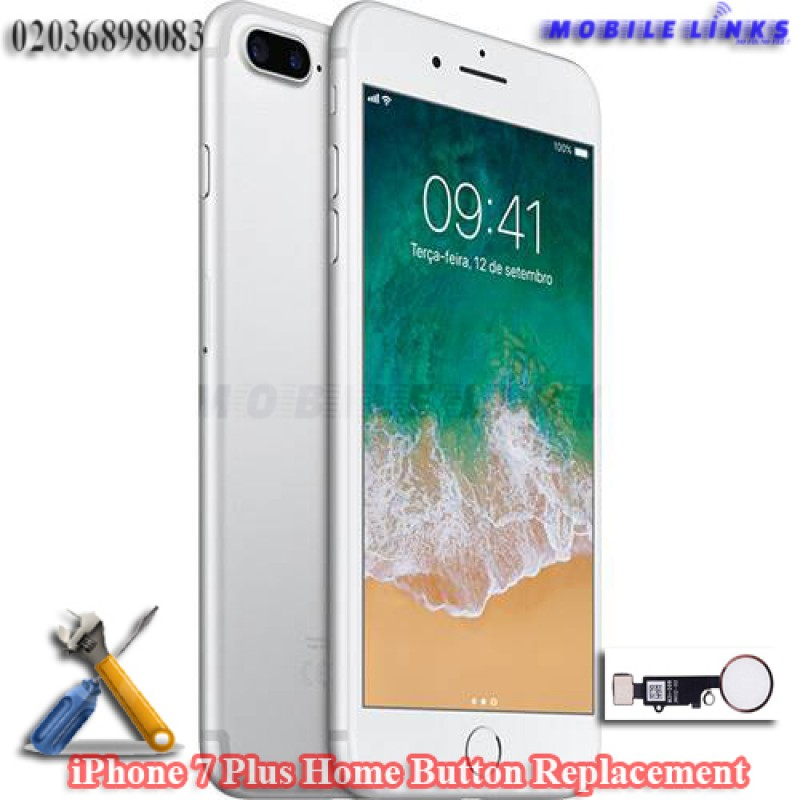cheap for discount 9be1a e7257 iPhone 7 Plus Home Button Replacement Repair