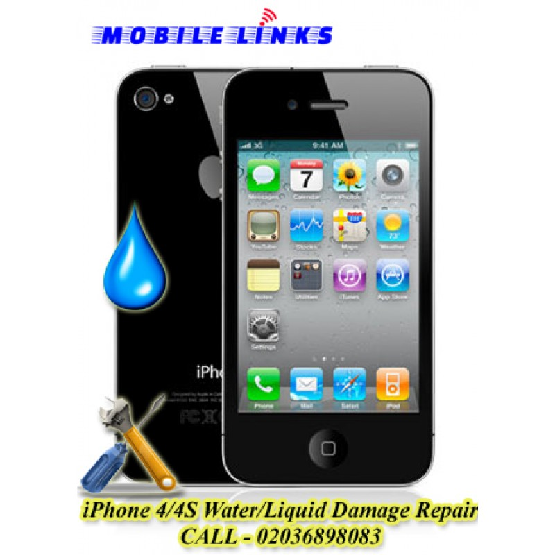 water damage iphone iphone 4 4s water liquid damage repair in east 2557