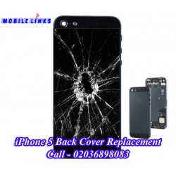 iPhone 5 Cracked Back Housing Repair
