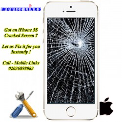 iPhone 5S Broken LCD/Display Replacement Repair Instantly in 30 Minutes