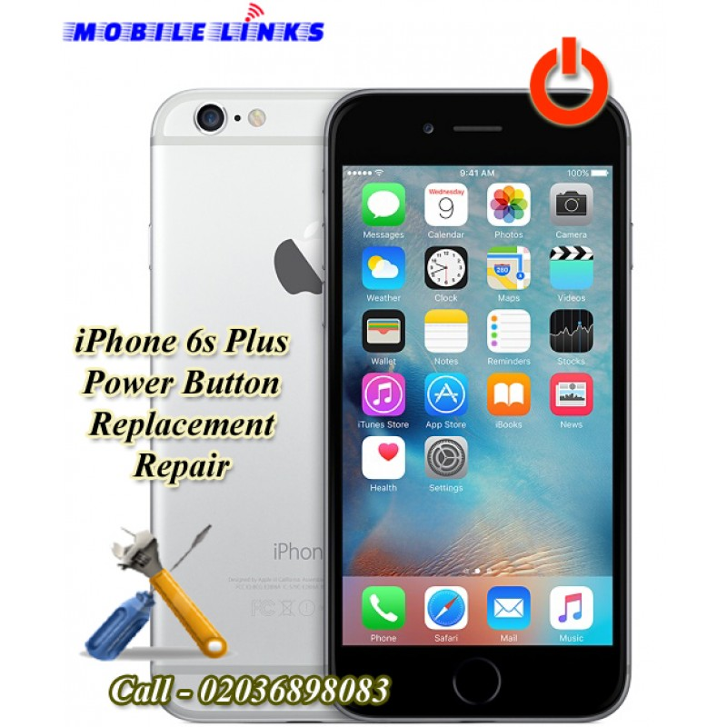 official photos d3270 b2f4b iPhone 6S Plus Power Button Replacement Repair