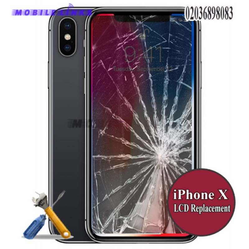 the latest 94dcf 4110d iPhone X Broken LCD/Display Replacement Repair